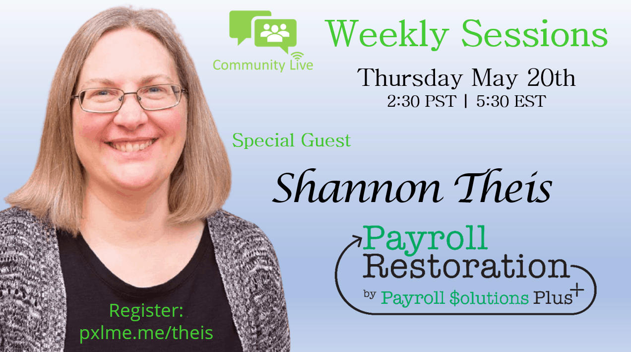 05.20.2021 Weekly Sessions featuring Shannon Theis